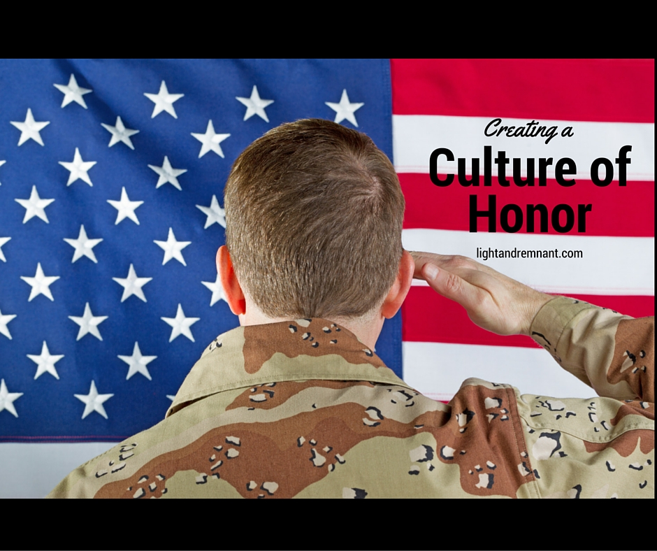 Creating a Culture of Honor
