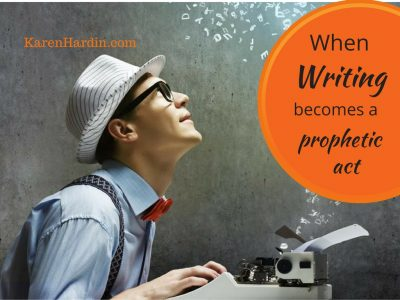 Write your Book- Bring the Supernatural into the Present