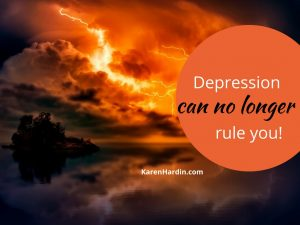 Depression and Oppression can no longer rule you