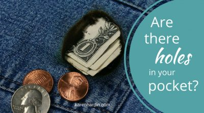 Do your pockets have holes?