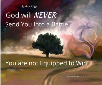He will never send you into a battle you can't win