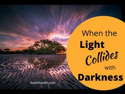 When Light Collides with Darkness