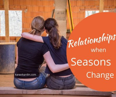 Relationships When Seasons Change