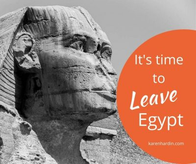 Leave Egypt Break the Yoke off our necks
