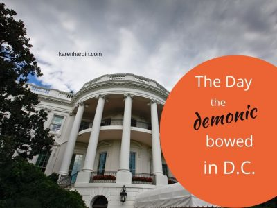 The Day the Demonic Bowed in DC