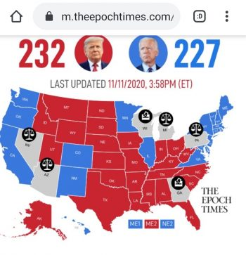Election Fraud is Real - Electoral map