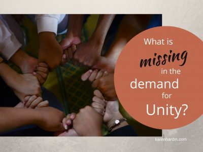What is Missing in the Demand for Unity