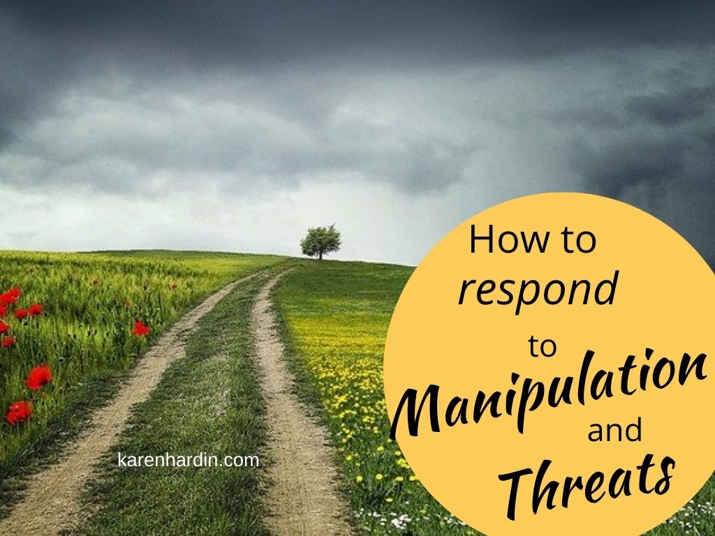 How to respond to manipulation