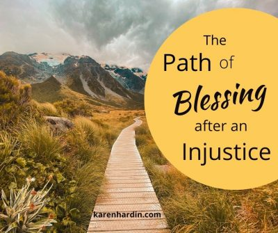 The path of blessing after injustice
